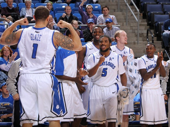 Saint Louis is on a 9-game winning streak and on top of the Atlantic 10. Photo courtesy MCT
